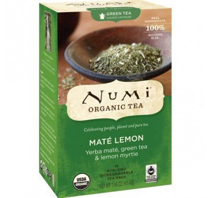 Mate Lemon Green Tea 18 Tea Bags