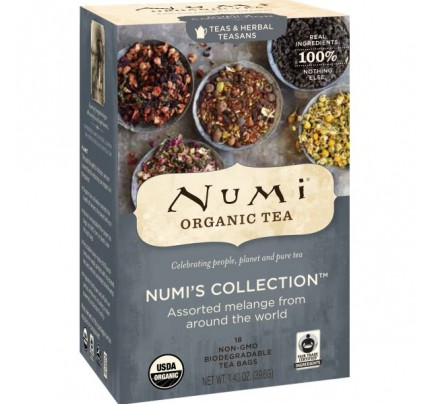 Numi's Collection Assorted Melange Tea 18 Tea Bags