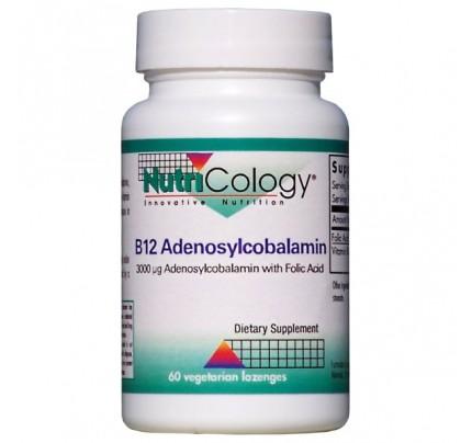 B12 Adenosylcobalamin Vegetarian Lozenges 60 Lozenges