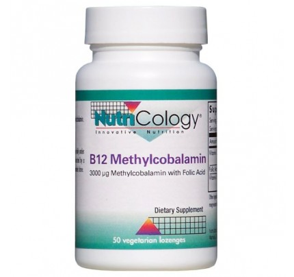 B12 Methylcobalamin Vegetarian Lozenges 50 Lozenges
