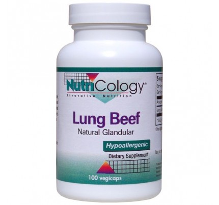 Beef Lung Natural Glandular 100 Capsules