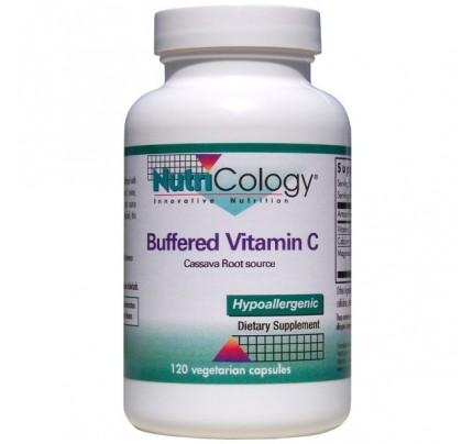 Buffered Vitamin C Cassava 120 Capsules