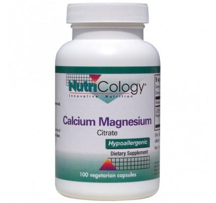 Calcium Magnesium Citrate 100 Capsules