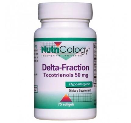Delta Fraction Tocotrienols 50 mg 75 Vegetarian Capsules