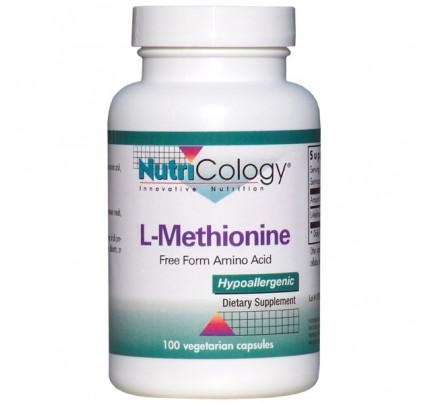 L-Methionine 500mg 100 Capsules