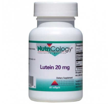 Lutein 20mg 60 Softgels