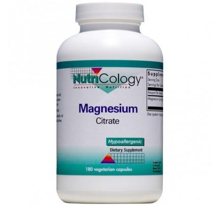 Magnesium Citrate 180 Vegetarian Capsules