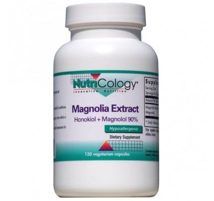 Magnolia Extract Honokiol + Magnolol 90% 120 Capsules