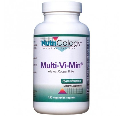 Multi-Vi-Min No Copper No Iron 150 Capsules