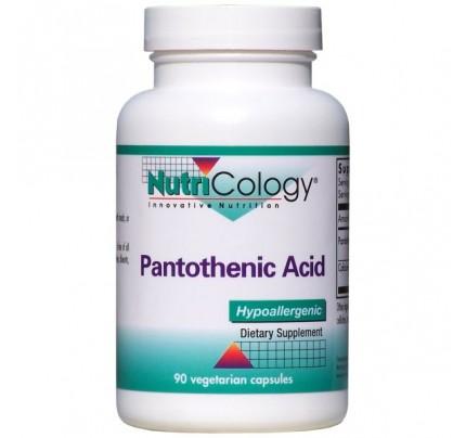 Pantothenic 500 mg B-5 90 Capsules