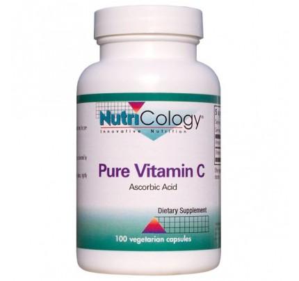 Pure Vitamin C Corn Source 100 Capsules