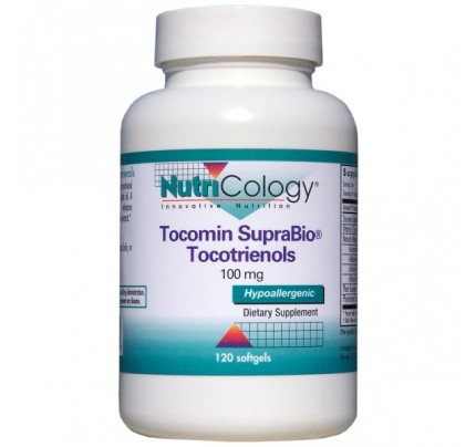 Tocomin SupraBio Toctrienols 100 mg 120 Softgels