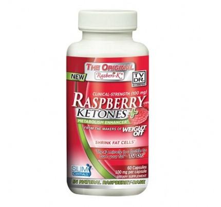 Razberi-K 99% Raspberry Ketones 100mg 60 Capsules