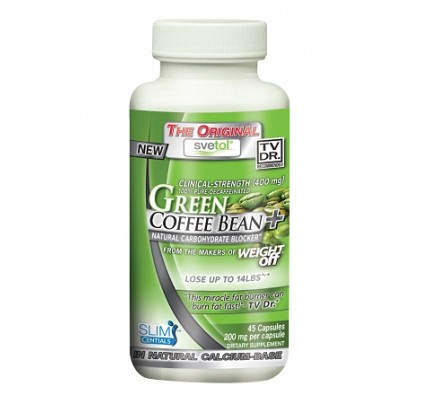 Svetol French Green Coffee Bean Extract 200mg 45 Capsules