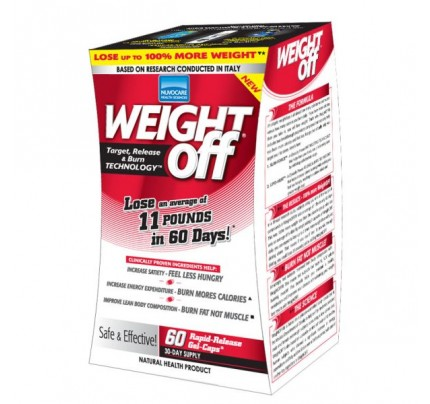 Weight Off Slim-Force & Lipo Glow Target Release & Burn Weight Off Technology 655mg 45 Capsules