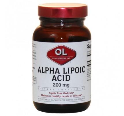 Alpha Lipoic Acid 200mg 60 Capsules