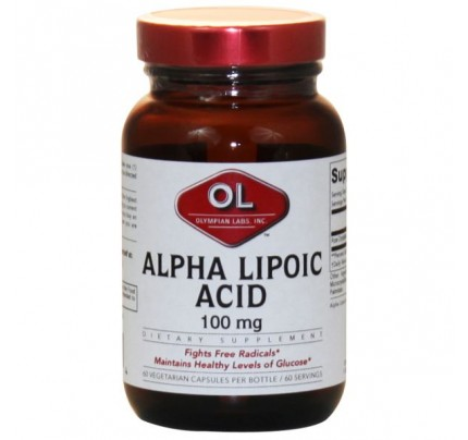 Alpha Lipoic Acid 100mg 60 Capsules