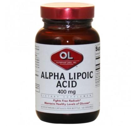 Alpha Lipoic Acid 400mg 60 Capsules