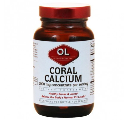 Coral Calcium 1,000mg per Serving 90 Capsules