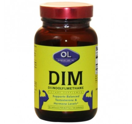 DIM Diindolymethane 100 mg 120 Capsules