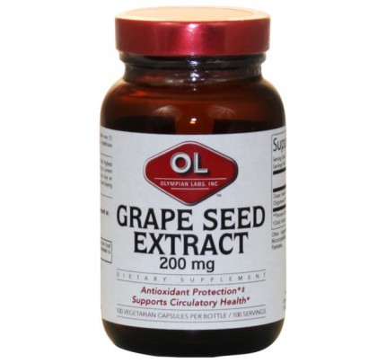 Grape Seed Extract 200 mg 100 Capsules