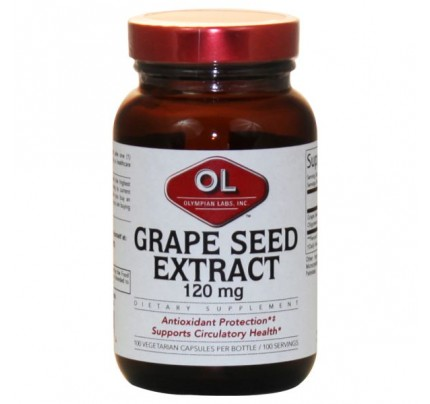 Grape Seed Extract 120 mg 100 Capsules