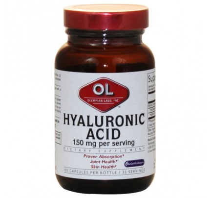 Hyaluronic Acid 50mg with Hydrolyzed Collagen Type II 100 Capsules