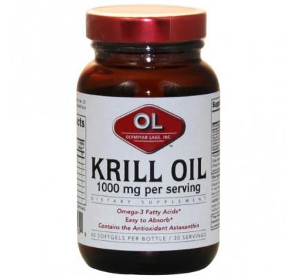 Krill Oil 1,000mg 60 Softgels