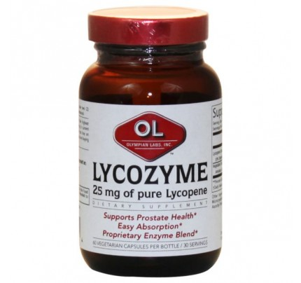 Lycozyme Extra Strength 250mg 60 Capsules