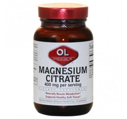 Magnesium Citrate 400mg 100 Capsules