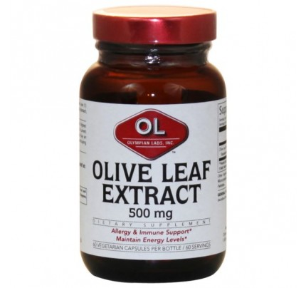 Olive Leaf Extract 500mg 60 Capsules