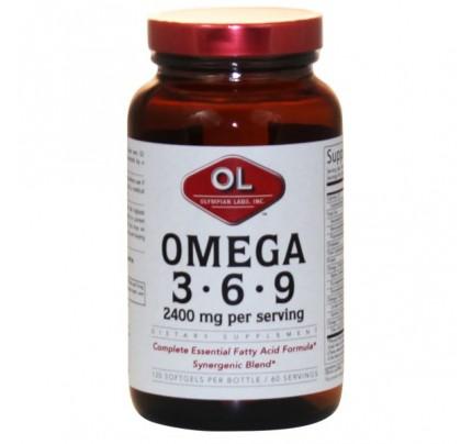 Omega 3-6-9 2,400mg 120 Softgels