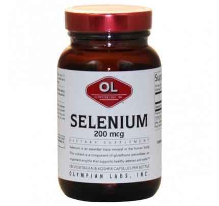 Selenium 200mcg 100 Capsules
