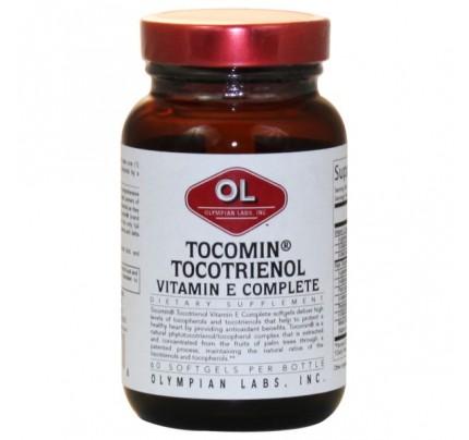 Tocomin Tocotrienol Vitamin E Complete 60 Softgels