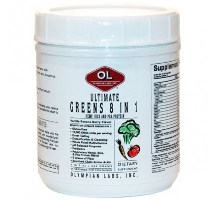 Ultimate Greens 8-in-1 Hemp, Rice, and Pea Protein 546 Grams