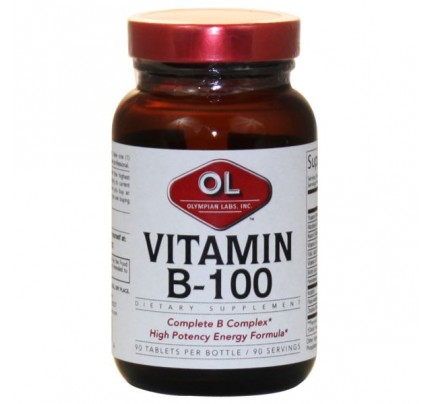 Vitamin B-100 Sustained Release Formula 90 Tablets