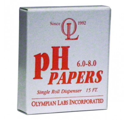 pH Paper 6.0 - 8.0 Length 15-feet