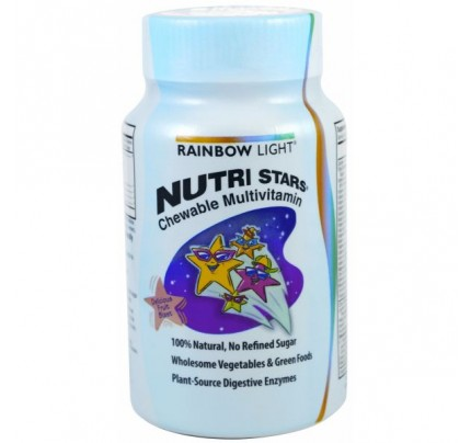 NutriStars Children's Fruit Blast 120 Chewable Tablets