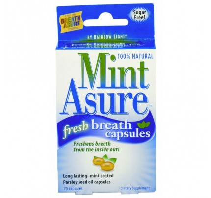 MintAsure Fresh Breath with Xylitol 75 Capsules