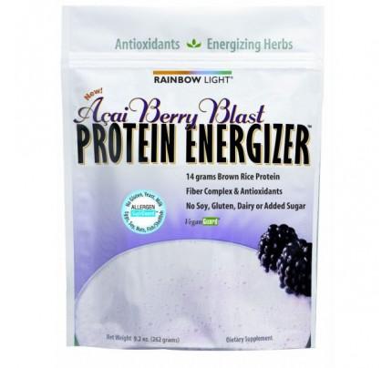 Protein Energizer Shake Powder Acai Berry 9.2oz.