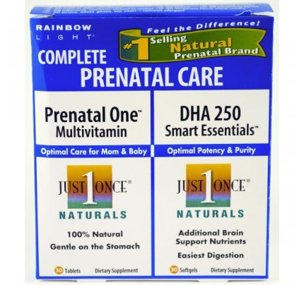 DHA 250 Smart Essentials & Prenatal One Combo Pack 60 Softgels
