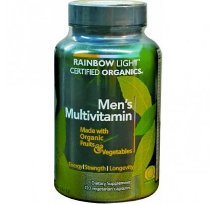Mens Certified Organics Multivitamin 120 Capsules