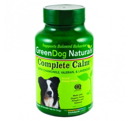 GreenDog Naturals Complete Calm For Dogs 30 Chewables