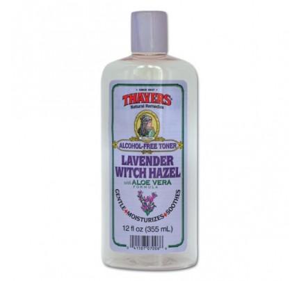 Witch Hazel Toner Alcohol-Free with Lavender 12oz.