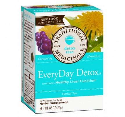 EveryDay Detox Tea 85% Organic 16 Teabags