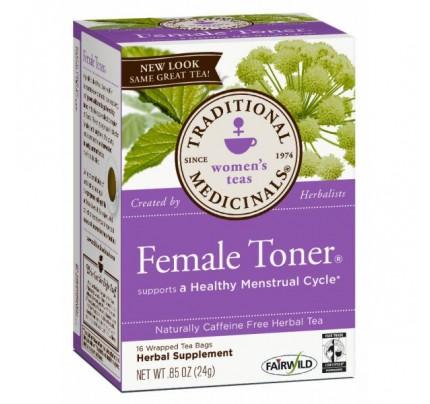 Female Toner Tea 98% Organic 16 Teabags