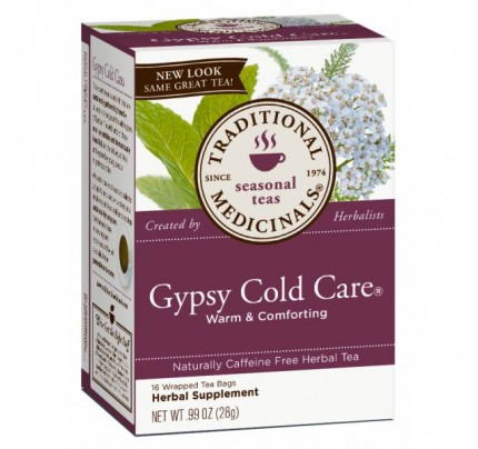 Gypsy Cold Care Tea 95% Organic 16 Teabags
