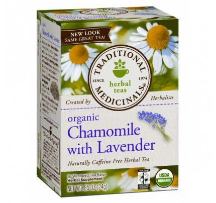 Organic Chamomile with Lavender Tea 16 Teabags