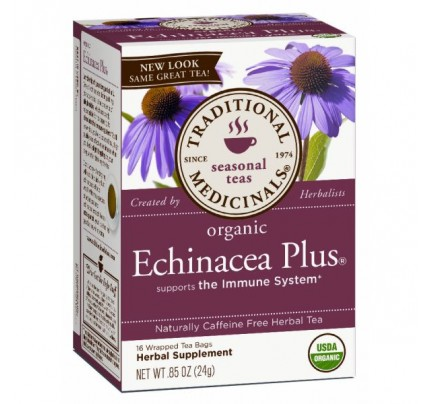 Organic Echinacea Plus Tea 16 Teabags