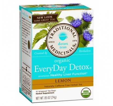 Organic EveryDay Detox Lemon Tea 16 Teabags